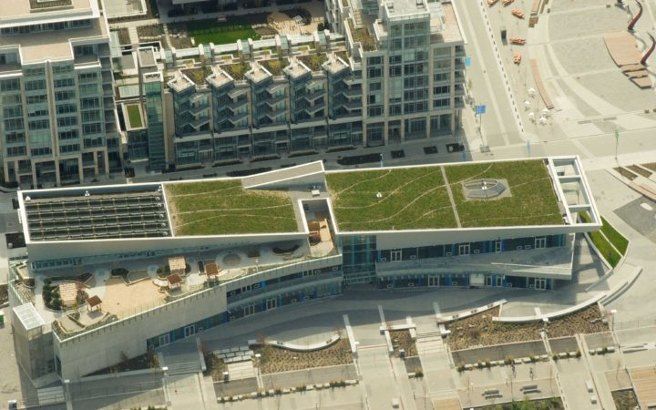 Vancouver Olympic Village Vitaroofs